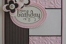 Card Making~~Birthday