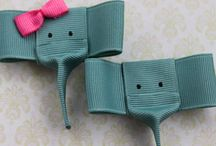 Ribbon sculpture for hairbows / by Rayah Lynch