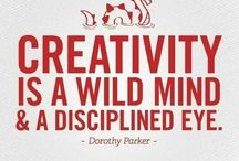 Favourite Writing Quotes / Words to inspire - and sometimes give you a creative kick up the backside.