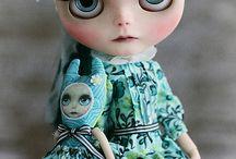Pullip and Blythe dolls