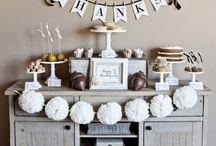Thanksgiving Dessert Tables