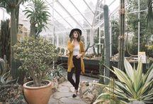 girl + garden