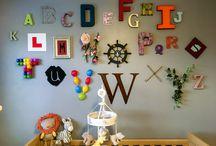 Willow-Graces Nursery / A-Z Nursery feature wall