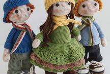 háčkované bábiky