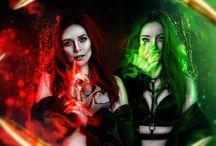 Polaris & Scarlet Witch