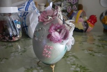 My Easter Eggs / Handcrafted with decoupage or other techniques
