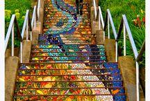 Escadas variadas