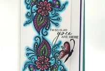 SOA - Beautiful World / Cards made with the Stamp of Approval Beautiful World Collection