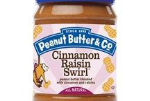 Cinnamon Raisin Swirl / #tasteamazing recipes using our all-natural Cinnamon Raisin Swirl peanut butter / by Peanut Butter & Co.