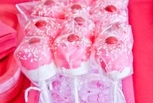 Marshmallow party favours