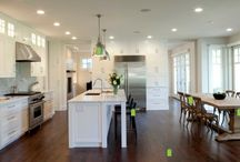Wood floors for kitchen reno / by Love That Max: Special Needs Resources