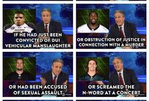 daily show/ colbert report