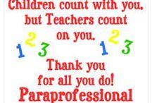 Paraprofessional Appreciation / by Martha Cuello