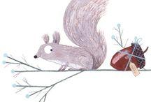 squirrels ♡♡♡