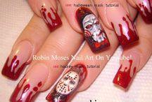 Ногти В Стиле Хэллоуин