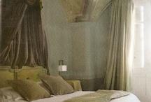 beautifully decorated bedrooms.  soooo romantic...