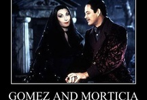 Gomez and Morticia / by Heather Dix