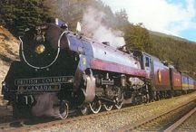 Trenes...añoranza del pasado....vapor y prestancia....