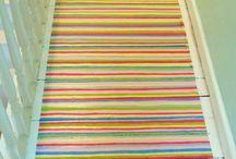 DIY Painted Floors / DIY painted floors .