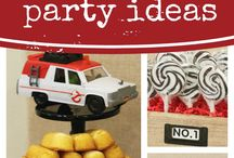 Ghostbuster Party Ideas