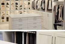 Husbygging walk in closet
