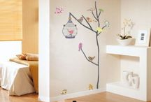 Wall Stickers / by Fleur Hollis Gleave