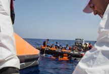 Crisis de Refugiados en Europa / La labor de Médicos Sin Fronteras para responder a la crisis en el mar Mediterráneo