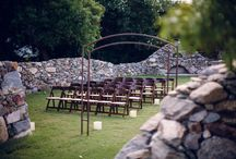 Stone Grove / Surrounded by a romantic stone structure, the encompassing lush green grass graces the backdrop of your special event.
