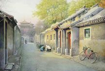 Old Alley / Old alley of anciant Hangzhou
