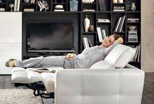 Relaxační sedačky a křesla