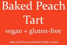 peach recipes vegan