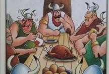Dining like Vikings