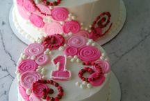 Cake birthday 1year