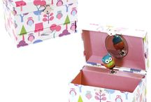 Children's Musical Jewellery Boxes