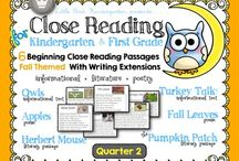 First Grade / These resources are great for making first grade fun! Includes math, reading, literacy centers, teaching ideas, and resources!