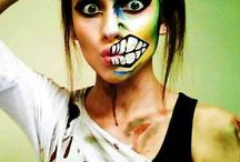 Halloween make up.  / by megan aumiller
