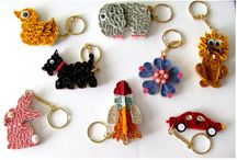 Quilling keychains