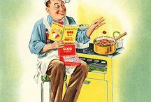 Vintage food pics