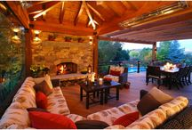 Perfect Outdoor Living Room / We transformed their drab and exposed deck into a warm, intimate retreat where they now spend each evening relaxing. Let us create your perfect outdoor living room. Find us at http://coloradodecks.com