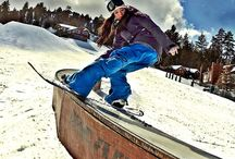 snowboarding / vail