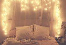 Good idea for bedroom / Bedroom bed head