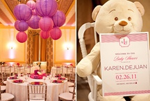 Party Glam | Baby Shower Ideas / Baby showers are not just pink and blue anymore. #babyshowerideas #afterido