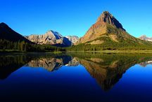 Montagne, monti sorgenti dalle acque, alti, di forma particolare