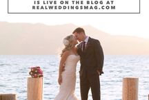 Featured Real Wedding: Chistine & Tom / Did your relationship begin with a great friendship? That's Christine & Tom's love story! Stop by the blog to check out their beautiful Lake Tahoe wedding with photos by Lily Rose Photography and paperie by MagnetStreet Weddings - http://www.realweddingsmag.com/real-weddings-wednesday-presenting-christine-tom/