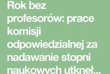 Polska nauka - organizacyjne