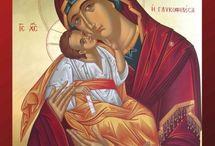 Madre di Dio Glykophilousa / Icone sacre della Madre di Dio