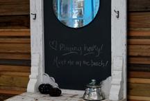 Blackboard decor
