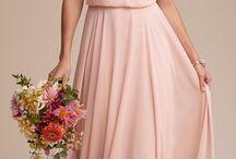 Blush Pink & Navy Blue