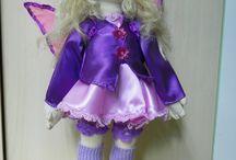 Кукла-Эльф-мотылёк / Вальфдорская текстильная кукла