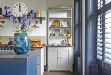 Free-standing kitchens / Beautiful pieces for a relaxed, unfitted look. Also great for listed buildings where attaching things to the wall is a no-no.